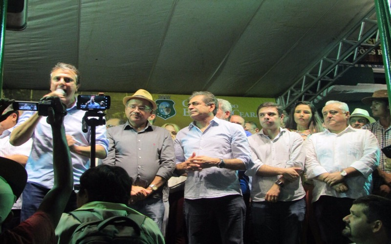Deputado prestigiou abertura da Expocrato/Foto: Rafael Pereira