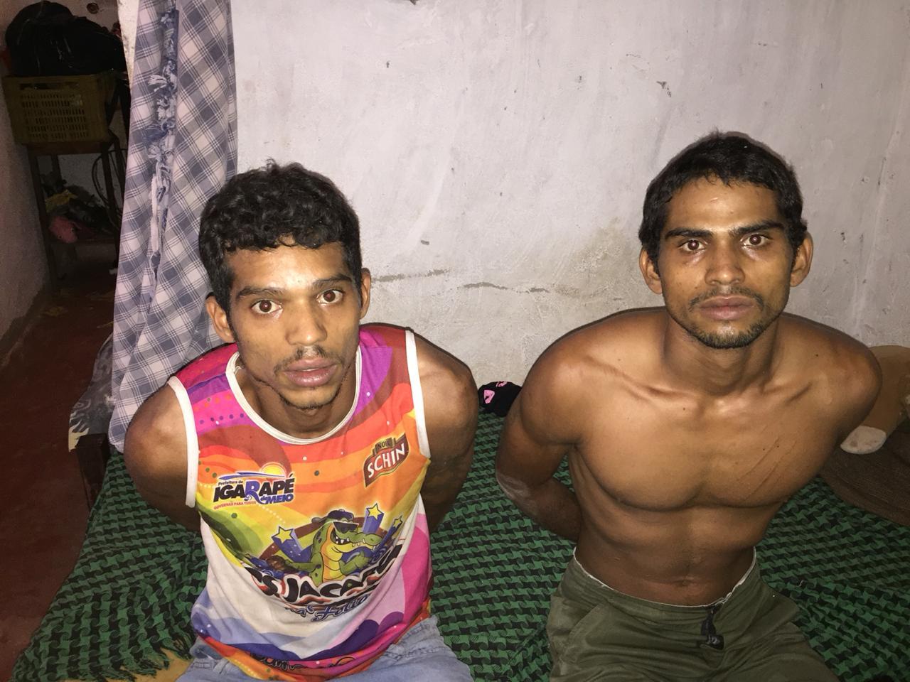 Irmãos acusados de matarem ex-presidiário em Crato-CE foram presos em ação rápida da Polícia um dia após o crime