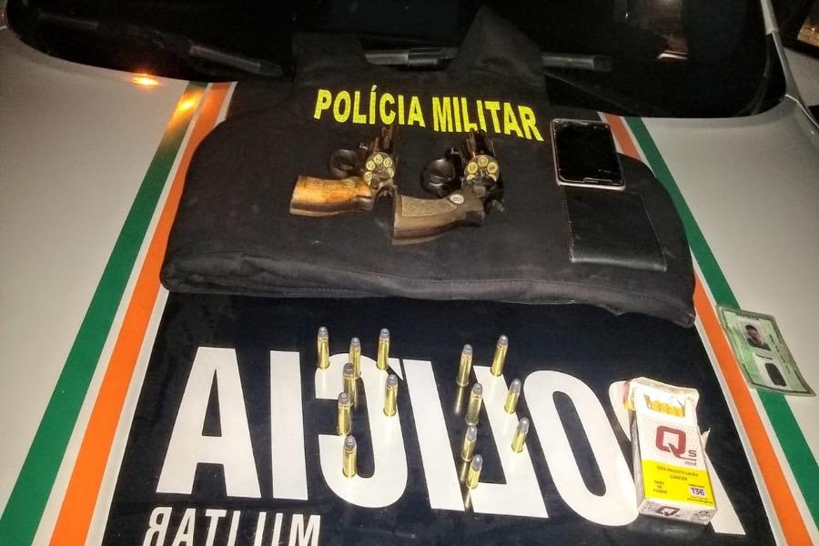 Trio é preso e polícia apreende mais duas armas de fogo e munições em Nova Olinda-CE