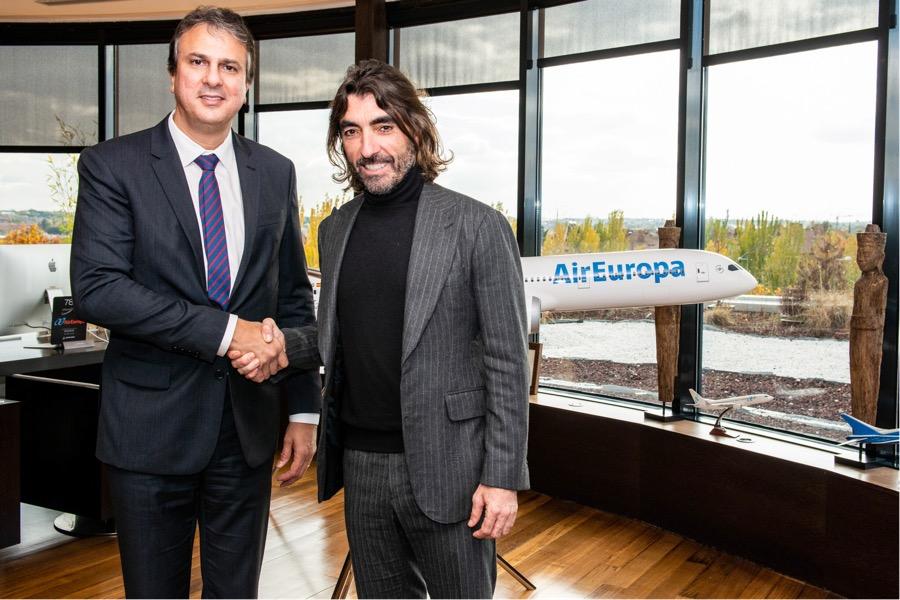 Air Europa lança dois voos semanais entre Madrid e Fortaleza