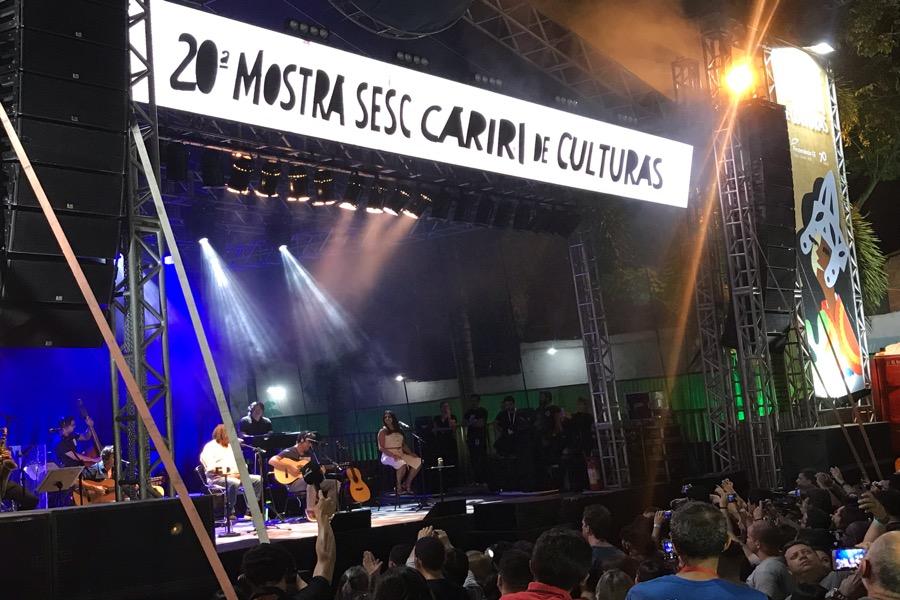 Encerramento da Mostra Sesc Cariri contou com show de Milton Nascimento