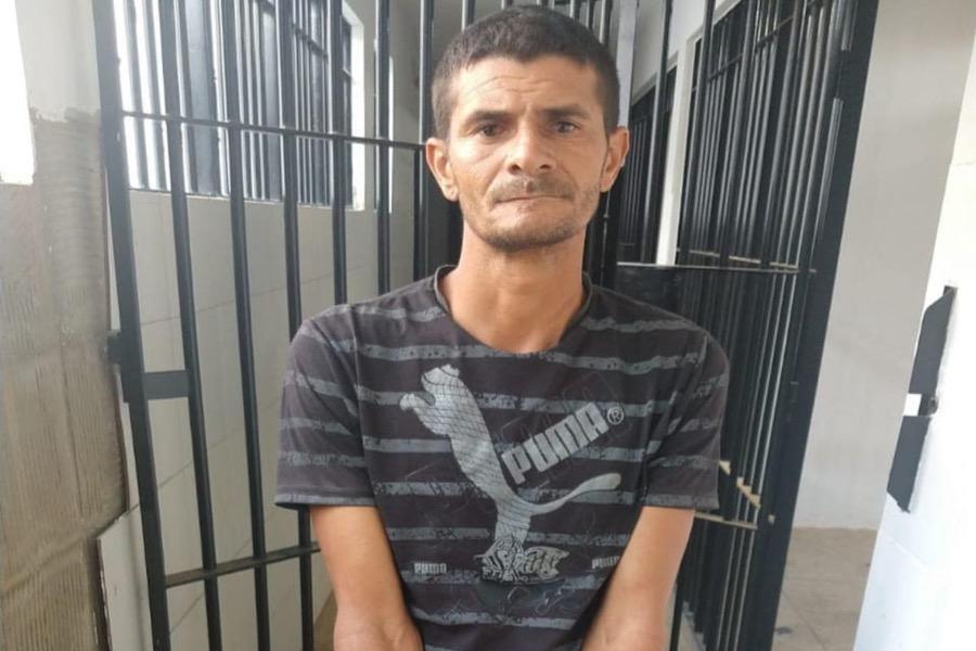 Acusado de matar homem e enterrar na cidade de Grangeiro-CE foi preso pela Polícia Civil