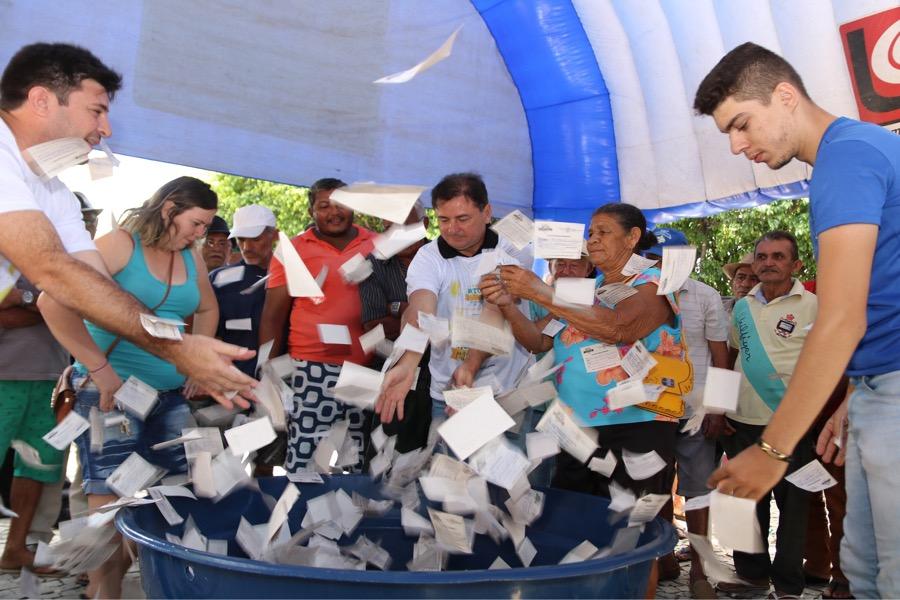 Prefeitura de Várzea Alegre realizou sorteio da campanha IPTU premiado 2018