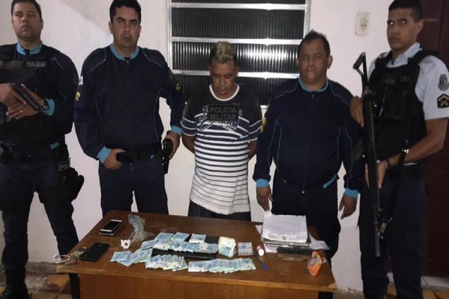 Acusado de furtar aproximadamente R$ 43 mil em dinheiro é preso 1h após o crime em Potengi-CE