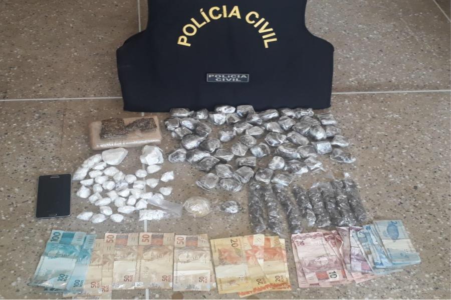Polícia Civil apreende grande quantidade de maconha e prende acusado em Crato-CE
