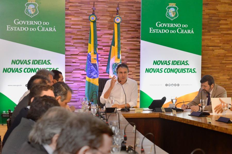Governador reúne bancada federal e discute projetos prioritários para o Ceará