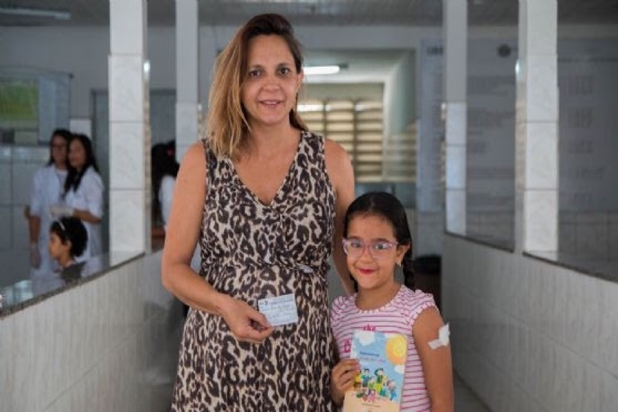 Cartão SUS e caderneta de vacinação são solicitados na matrícula em escolas municipais de Juazeiro do Notete-CE