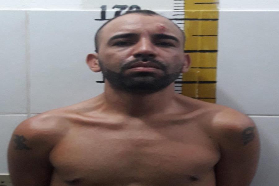 Acusado de assaltar posto de combustível é preso pelo BPRAIO nessa terça feira