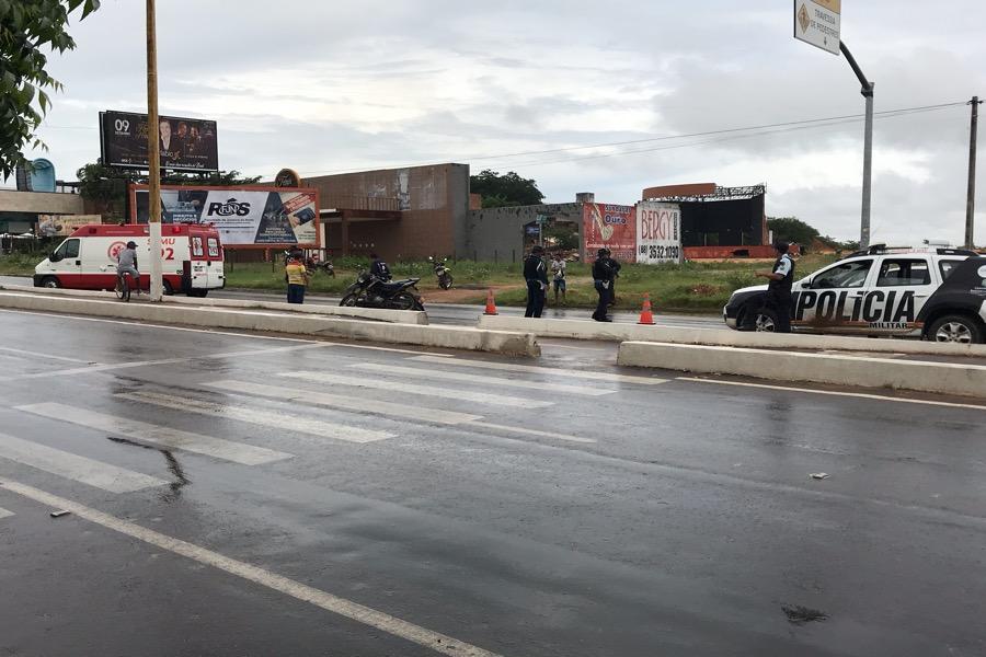 Quatro mortes de trânsito registadas nas últimas horas e mais um acidente agora na Avenida padre Cícero em Crato-CE