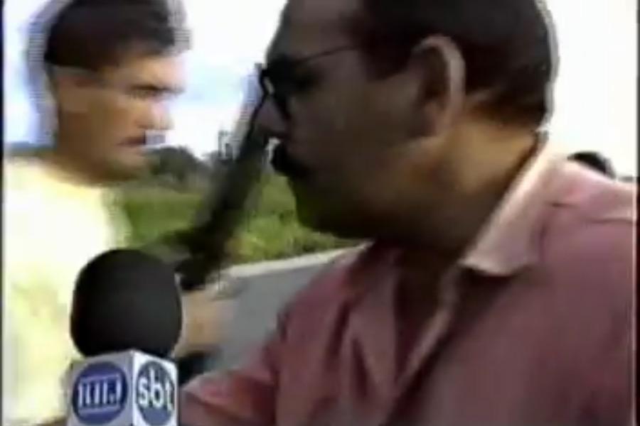 """Roberto Bulhões o """"Repórter destemido do Cariri"""", News Cariri relembra tiro acidental sofrido pelo jornalista há mais de 20 anos"""
