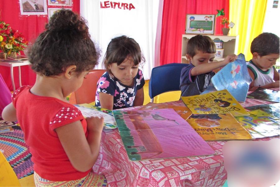 Projeto de incentivo à leitura é destaque em escola de Farias Brito