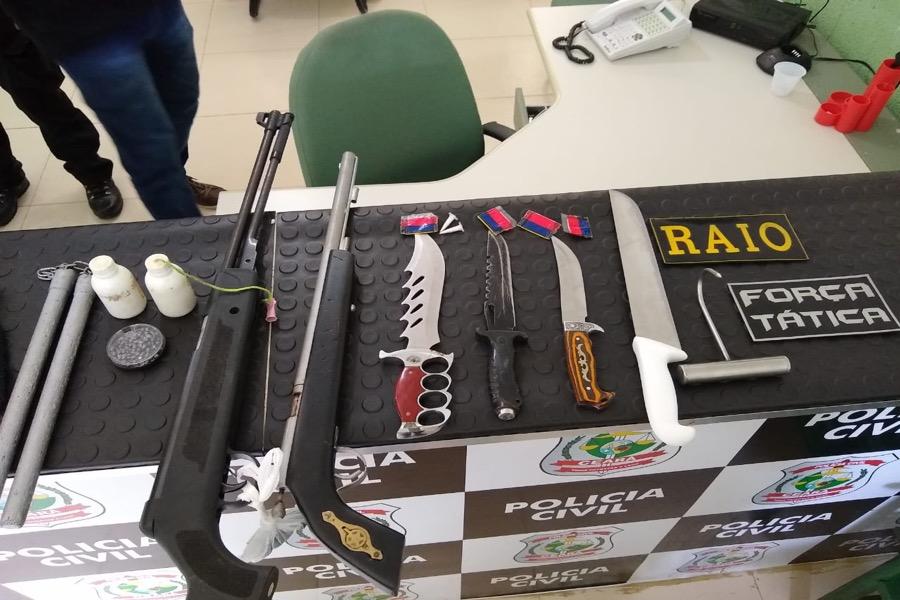Policia retira mais três  armas de circulação nas cidades de Brejo Santo e Barbalha-CE