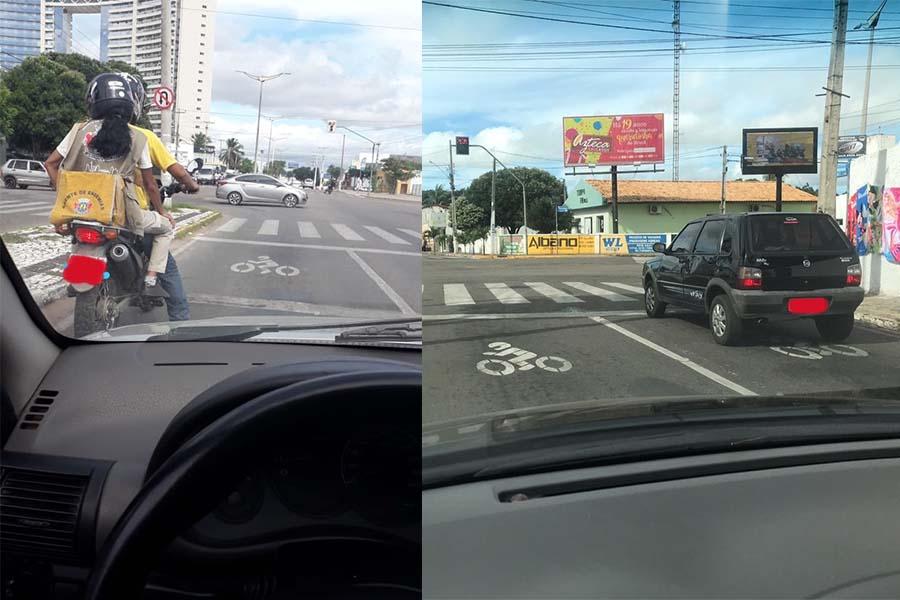 Condutores não se adaptam às novas faixas de motocicletas implantadas em Juazeiro do Norte