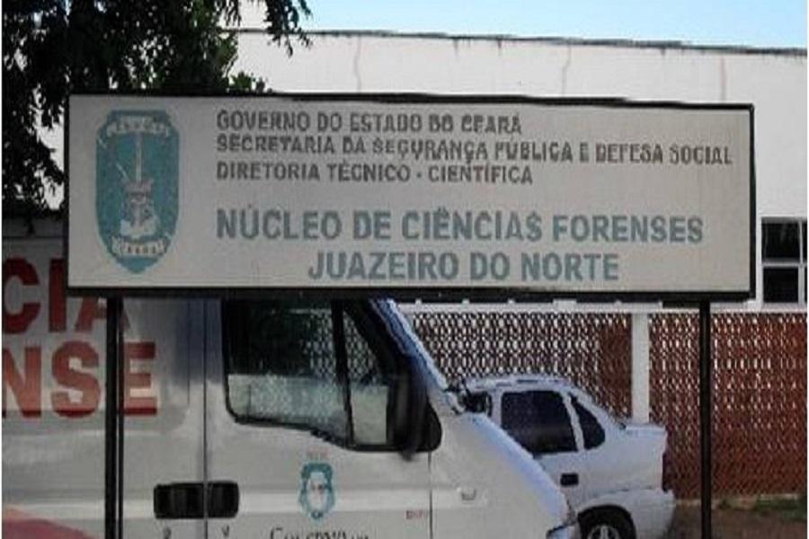 Dois corpos deram entrada no Instituto de Pericia Forense em Juazeiro do Norte-CE nas últimas horas