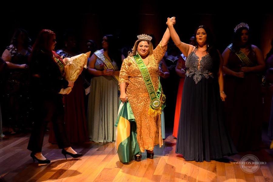 Juazeirense é eleita a mais bela gordinha do Brasil em concurso no Rio de Janeiro