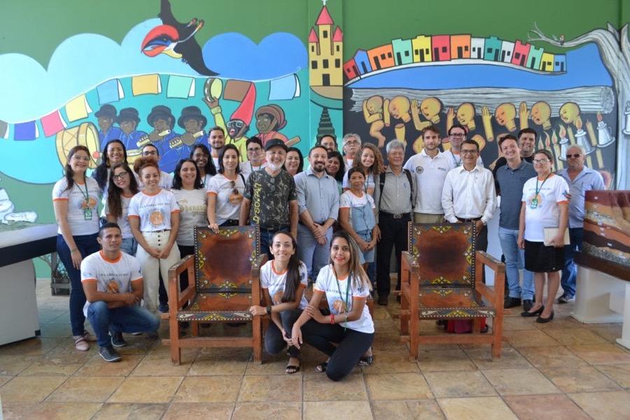 Avaliadores da Unesco visitam geossítios e conhecem experiências de parceiros do GA