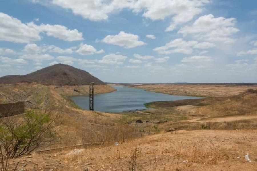 Os dados do Monitor de Secas reforçam a necessidade de uso consciente da água. Atualmente, dos 155 açudes monitorados pela Companhia de Gestão de Recursos Hídricos (Cogerh), 76 estão com volume inferior a 30%. (FOTO: Leandro Castro/Funceme)