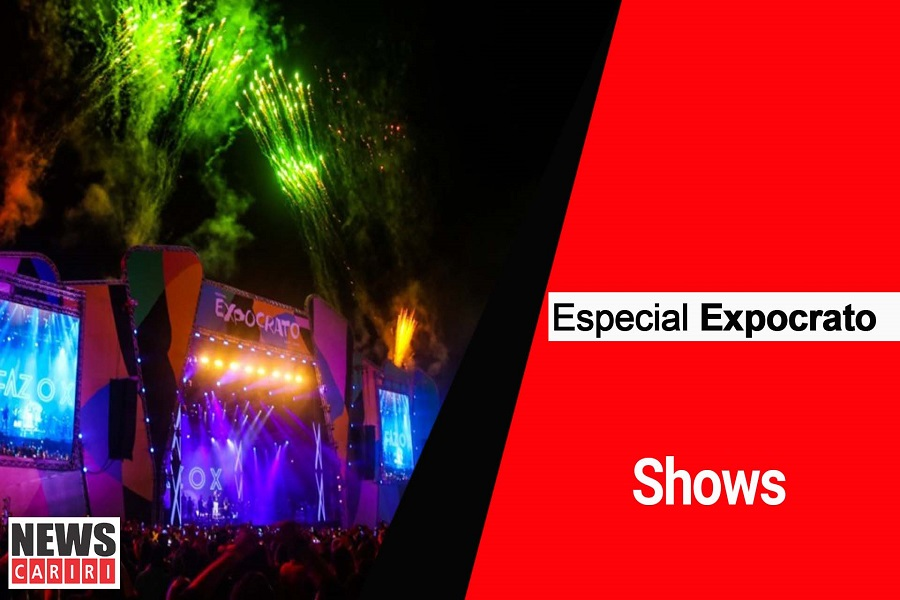 ESPECIAL EXPOCRATO: Shows de bandas e artistas nacionais e regionais