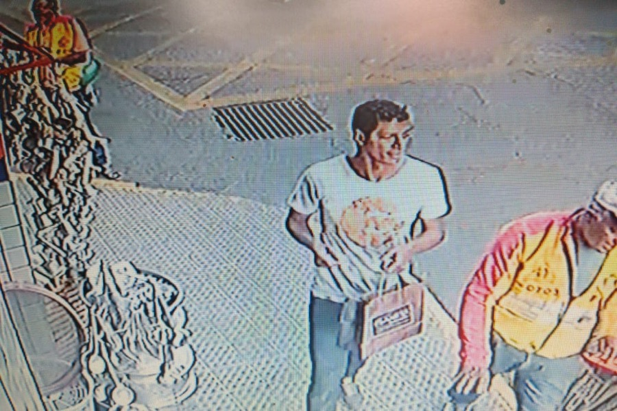 Imagem do suspeito de participação do assassinato de moto-taxista é divulgada pelo Núcleo de Homicídios de Juazeiro do Norte-CE