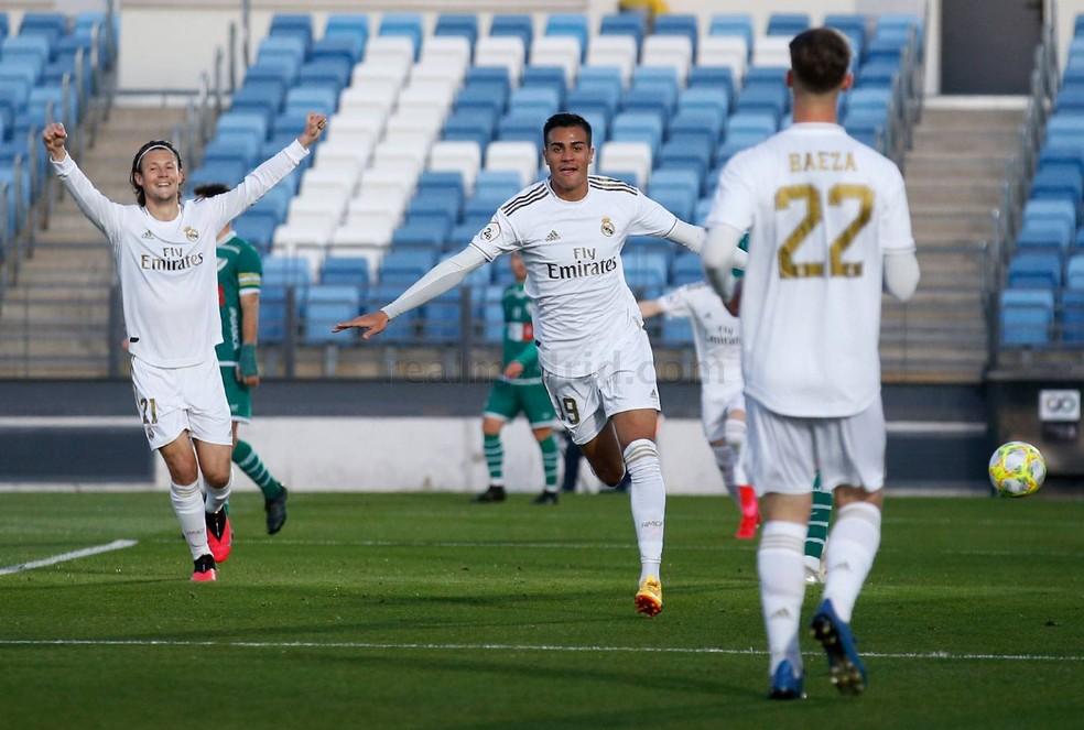 Antes da pandemia, Reinier vinha se destacando pelo Real Madrid Castilla — Foto: María Jiménez/Real Madrid