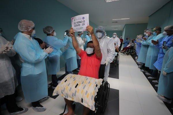 Amazonas tem dois mil curados da Covid-19 — Foto: Diego Peres/Secom