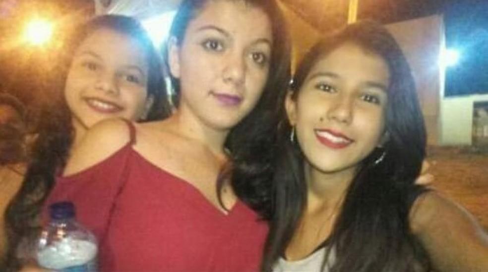 Gabriela, Jackeline e Letícia desapareceram na terça-feira (7) — Foto: Arquivo pessoal