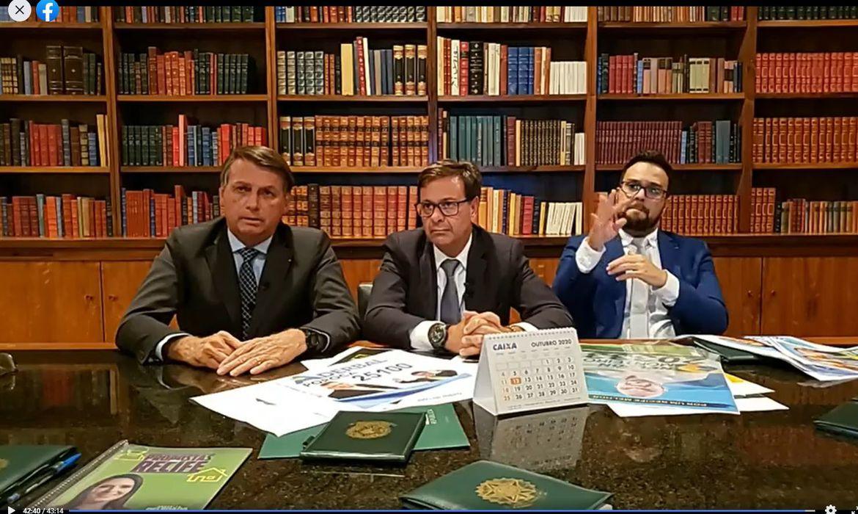 Jair Bolsonaro/Facebook/Direitos Reservados