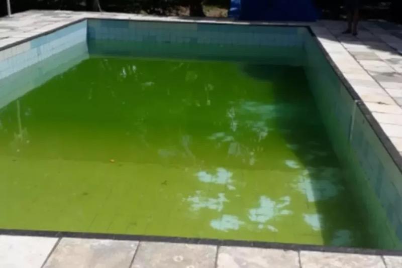 Menina entrou em piscina para nadar e acabou se afogando, no interior do Ceará. — Foto: Corpo de Bombeiros/Divulgação