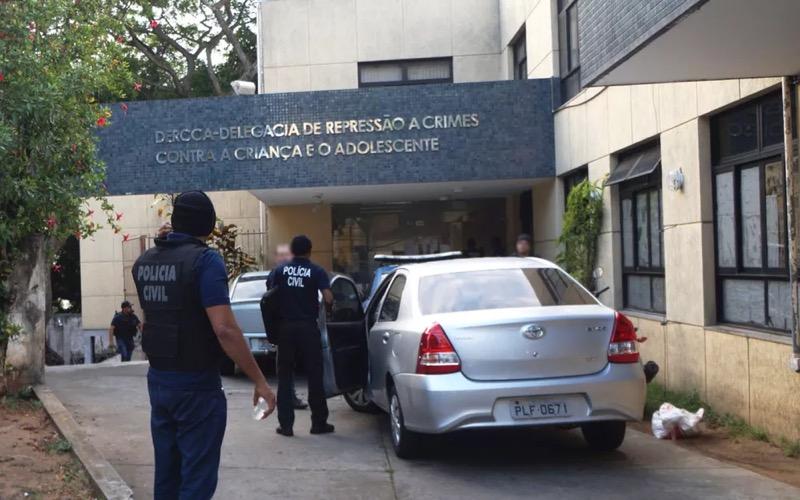 Delegacia Especializada de Repressão aos Crimes Contra a Criança e o Adolescente (Dercca), em Salvador — Foto: Divulgação/Polícia Civil