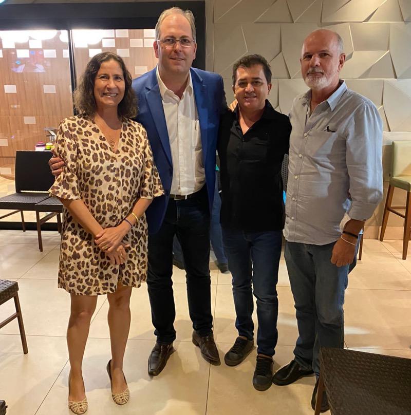 Presidente nacional da Abrape se reúne com empresários do setor de eventos