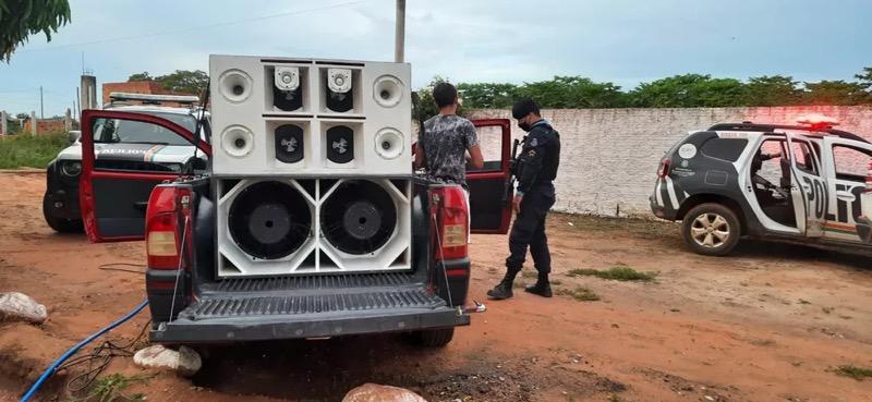 Local foi encontrado após denúncia anônima — Foto: Divulgação/PMCE