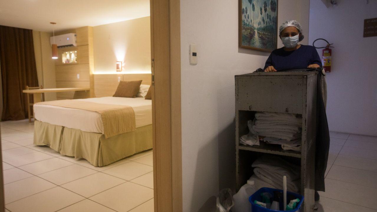 Setor hoteleiro prevê que mais 90% das empresas do ramo vão aderir à MP de redução ou suspensão de jornada de trabalho Foto: Camila Lima