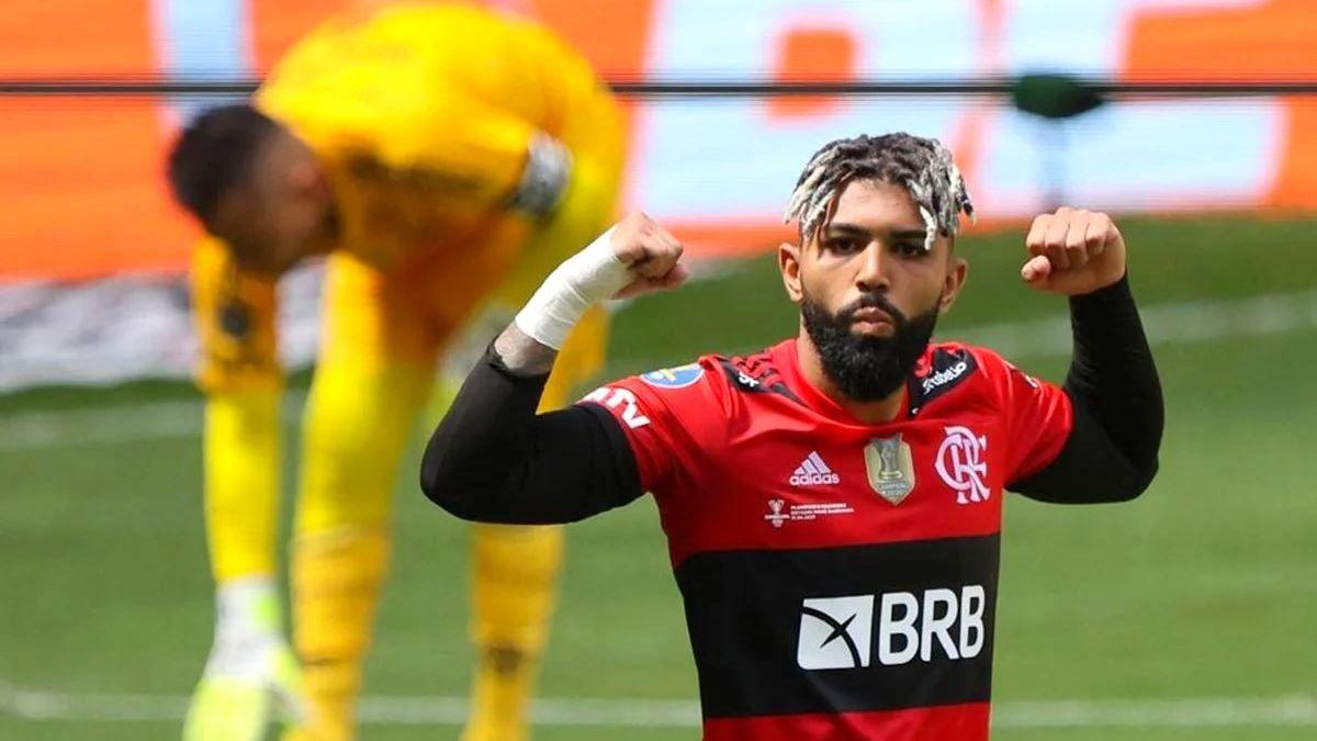 O salário de Gabigol no Flamengo é estimado em R$ 1,2 milhão por mês Foto: divulgação