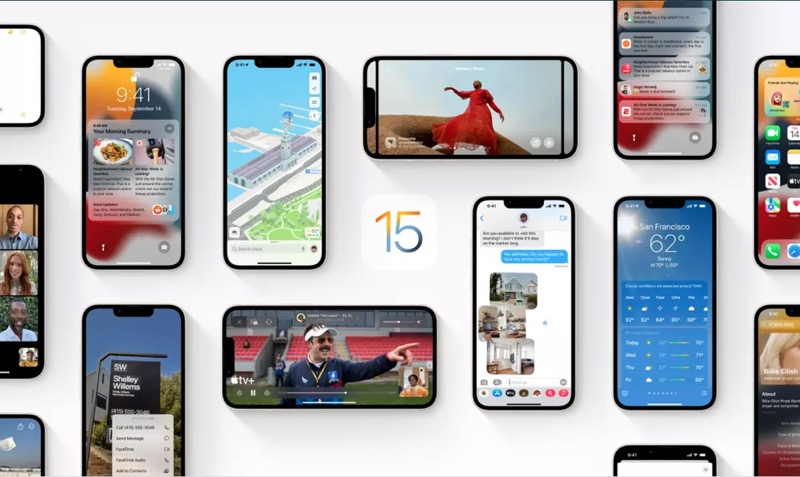 Foto: iOS 15 no iPhone 13 — Foto: Divulgação/Apple